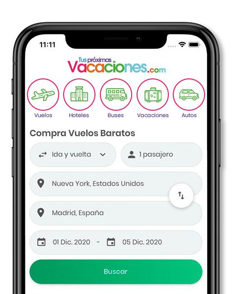 App Tus Próximas Vacaciones